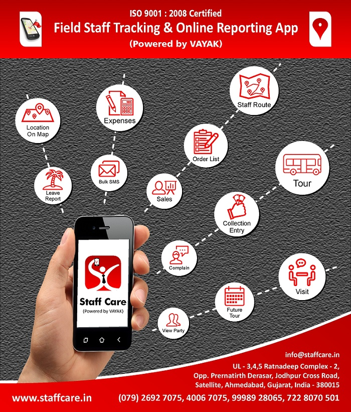 Staff Reporting Mobile App Brochures